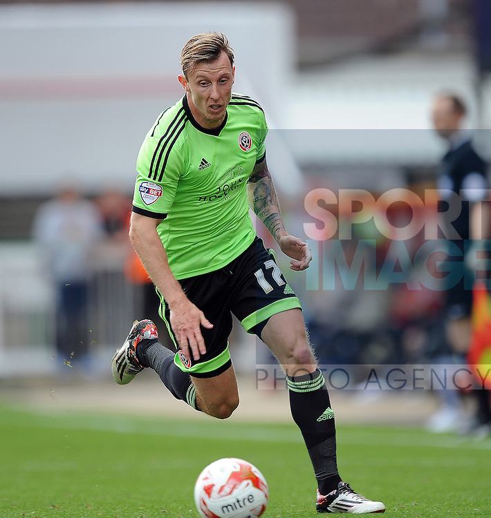 Martyn Woolford of Sheffield United<br /> - English League One - Swindon Town vs Sheffield Utd - County Ground Stadium - Swindon - England - 29th August 2015
