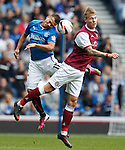Arnold Peralta and Lee Erwin of Arbroath