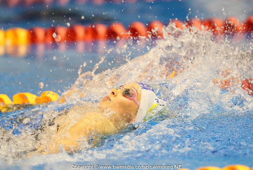 Gina Galloway. Swimming New Zealand Aon National Age Group Championships, Wellington Regional Aquatic Centre, Wellington, New Zealand, Wednesday 17 April 2019. Photo: Simon Watts/www.bwmedia.co.nz