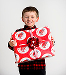 WATERBURY, CT-120218JS01- Christmas Kids, Bobby Dwyer, 4, Torrington.<br />  Jim Shannon Republican American
