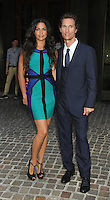 July 23,  2012 Matthew McConaughey, Camila Alves attend Cinema Society screening of Killer Joe  at the Tribeca Grand Hiotel in New York City.Credit:© RW/MediaPunch Inc. /NortePhoto*<br />