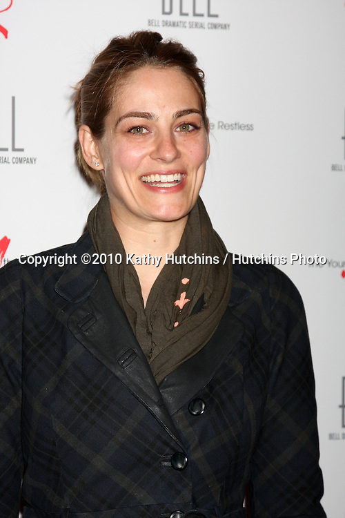 Clementine Ford.arrivng at The Young & The Restless 37th Anniversary Dinner.Via Allorro.Beverly Hills, CA.March 9, 2010.©2010 Kathy Hutchins / Hutchins Photo....