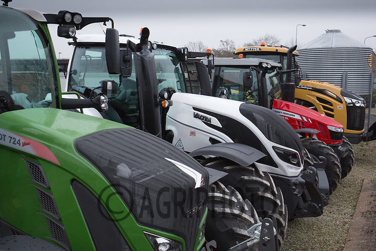 AGCO main dealers forecourt <br /> Picture Tim Scrivener 07850 303986<br /> tim@agriphoto.com<br /> &hellip;.covering agriculture in the UK&hellip;.