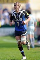 Simon Taylor of Bath Rugby during the Aviva Premiership match between Bath Rugby and Leicester Tigers at The Recreation Ground on Saturday 20th April 2013 (Photo by Rob Munro)