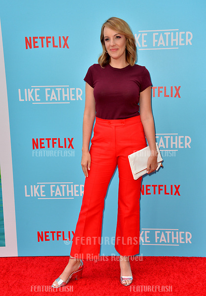 """Jen Zaborowski at the Los Angeles premiere of """"Like Father"""" at the Arclight Theatre, Los Angeles, USA 31 July 2018<br /> Picture: Paul Smith/Featureflash/SilverHub 0208 004 5359 sales@silverhubmedia.com"""