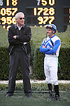 20 February 2009: D. Wayne Lukas and jockey Terry Thompson before The Southwest at Oaklawn in Hot Springs, Arkansas