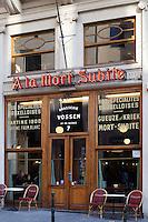 Belgium, Province Brabant, Brussels: Cafe A la Mort Subite | Belgien, Provinz Brabant, Bruessel: Café Brasserie A La Mort Subite