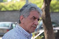 CAMPINAS, SP 23.02.2018-GREVE-Casemiro Reis, presidente Sindmed de Campinas. Medicos do Hospital Ouro Verde, decidiram entrar em greve na manha desta sexta-feira (23). (Foto: Denny Cesare/Codigo19)