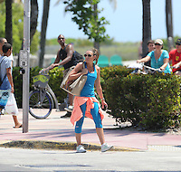 Michelle Heaton in Miami Beach