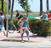 Michelle Heaton in Miami Beach