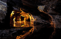 Mina da Passagem ( Passagem Mine ) is the largest still existing mine to visit in the world with 30 km of tunnels with underground lakes of crystal clear water - nowadays it is used for tourism, it is one of the best meeting points of cave divers in Brazil and it is also a large field for researchers who come from around the world.  Mariana District, Minas Gerais State, southeast Brazil.
