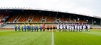 20170513 - MECHELEN , BELGIUM : both team line ups pictured during the final of Belgian cup 2017 , a womensoccer game between RSC Anderlecht and KAA Gent Ladies , in the AFAS stadion in Mechelen , saturday 13 th Mayl 2017 . PHOTO SPORTPIX.BE | BELGA |  DAVID CATRY