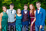 Ciara O'Sullivan, Sean Kissane, Emma Coffey, Oisin Cronin, Ellen Sheehan and Sean Corcoran, pictured at MIlltown Presentation Secondary School Debs, held at the Earl of Desmond Hotel, Tralee, on Thursday, July 25th last.