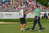 Justin Thomas (USA) wins the 2018 World Golf Championships - Bridgestone Invitational, at the Firestone Country Club, Akron, Ohio. 8/5/2018.<br /> Picture: Golffile | Ken Murray<br /> <br /> <br /> All photo usage must carry mandatory copyright credit (© Golffile | Ken Murray)