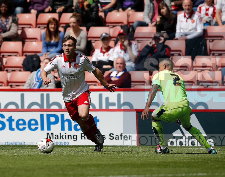 Graham Kelly of Sheffield Utd in action during the PDL U21 Final at Bramall Lane Sheffield. Photo credit should read: Simon Bellis/Sportimage