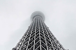 May 22, 2011, Tokyo, Japan - Tokyo Skytree, the world's tallest self-standing telecommunications tower with a height of 634 meters, opens today. This new Japanese landmark is expected to attract approximately 200,000 visitors on this first official opening day to the general public. (Photo by Yumeto Yamazaki/Nippon News)