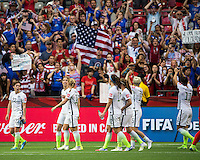 USWNT vs Nigeria, June 16, 2015