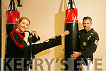 Black Belt Martial Arts Academy Pembroke Street members Allie Guilfoyle and Alan Guilfoyle, are preparing for two world championships and recently won national medals