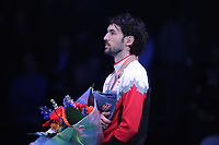 SHORT TRACK: ROTTERDAM: Ahoy, 12-03-2017, KPN ISU World Short Track Championships 2017, Podium Men 1000m, Charles Hamelin (CAN), ©photo Martin de Jong
