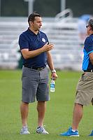 Kansas City, MO - Saturday July 16, 2016: Vlatko Andonovski prior to a regular season National Women's Soccer League (NWSL) match between FC Kansas City and the Washington Spirit at Swope Soccer Village.