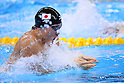 Yasuhiro Koseki (JPN), <br /> AUGUST 13 2016 - Swimming : <br /> Men's 4x100m Medley Relay Final <br /> at Olympic Aquatics Stadium <br /> during the Rio 2016 Olympic Games in Rio de Janeiro, Brazil. <br /> (Photo by Yohei Osada/AFLO SPORT)