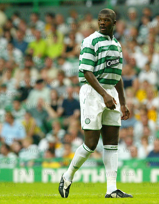 Bobo Balde, Celtic.Stock season 2003-04..pic willie vass