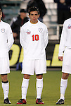 11 December 2009: Virginia's Jonathan Villanueva. The University of Virginia Cavaliers defeated the Wake Forest University Demon Deacons 2-1 after overtime at WakeMed Soccer Stadium in Cary, North Carolina in an NCAA Division I Men's College Cup Semifinal game.