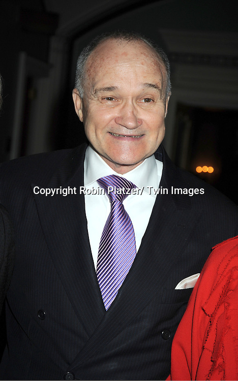 Police Commissioner Ray Kelly attends The Police Athletic League's 23rd Annual Women of the Year Luncheon on November 7, 2011 at ..The Pierre Hotel in New York City.