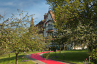 France, Calvados (14), Côte Fleurie, Deauville,  la Villa Strassburger, mention obligatoire  // France, Calvados, Côte Fleurie, Deauville,  Villa Strassburger, compuslsory Mention