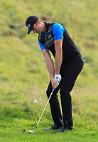 Sebastian Heisele (GER) in the rough on the 2nd during Round 1 of the Bridgestone Challenge 2017 at the Luton Hoo Hotel Golf &amp; Spa, Luton, Bedfordshire, England. 07/09/2017<br /> Picture: Golffile   Thos Caffrey<br /> <br /> <br /> All photo usage must carry mandatory copyright credit     (&copy; Golffile   Thos Caffrey)