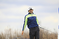 Clement Sordet (FRA) on the 4th tee during Round 1 of the Open de Espana 2018 at Centro Nacional de Golf on Thursday 12th April 2018.<br /> Picture:  Thos Caffrey / www.golffile.ie<br /> <br /> All photo usage must carry mandatory copyright credit (&copy; Golffile | Thos Caffrey)