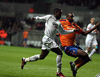 Pictured: Nathan Dyer of Swansea City in action <br /> Re: Coca Cola Championship, Swansea City FC v Reading at the Liberty Stadium. Swansea, south Wales, Saturday 17 January 2009<br /> Picture by D Legakis Photography / Athena Picture Agency, Swansea 07815441513