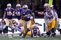 Salvon Ahmed breaks free for an 89-yard touchdown run.