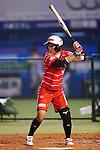 Yuka Ichiguchi (Bee Queen), APRIL 17, 2016 - Softball : 49th Japan Women's Softball League between Bic Camera Bee Queen 7-1 Honda Reverta at QVC Marine Field, Chiba, Japan. (Photo by Yusuke Nakanishi/AFLO SPORT)