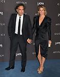 Alejandro González Iñárritu, Maria Eladia 067 attends the 2019 LACMA Art + Film Gala at LACMA on November 02, 2019 in Los Angeles, California