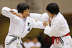 (L-R) Nami Nabekura, Miho Minei, September 14, 2014 - Judo : All Japan Junior Judo Championships Women's -63kg Final at Saitama Prefectural Budokan, Saitama, Japan. (Photo by Yusuke Nakanishi/AFLO SPORT) [1090]