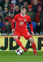 Ben Woodburn of Wales during the international friendly soccer match between Wales and Panama at Cardiff City Stadium, Cardiff, Wales, UK. Tuesday 14 November 2017.