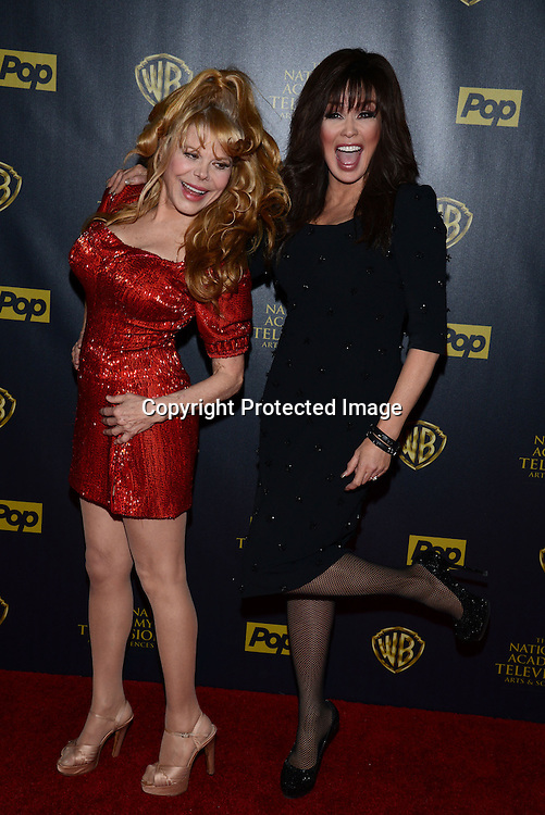 Marie Osmond and Charo attends the 42nd Annual Daytime Emmy Awards Press Room on April 26, 2015 at Warner Bros Studio in Burbank, California, USA