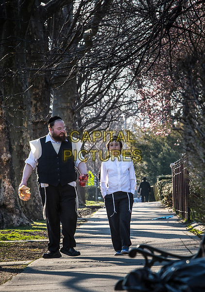 Menashe (2017) <br /> Menashe Lustig and Ruben Niborski <br /> *Filmstill - Editorial Use Only*<br /> CAP/FB<br /> Image supplied by Capital Pictures