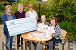 On Monday at Recovery Haven,Tralee a cheque was presented of 1000 by the Bridge Congress members as they raise the money at the Tralee International Congress at New Year Eve in Manor West Hotel,Tralee l-r: Trish Stack (Bridge Club),Maureen O'Brien (Recovery haven),Tom Hardiman (Bridge Club), Ellsie Bannan and Philomena Stack (Recovery Haven)