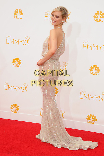 25 August 2014 - Los Angeles, California - Taylor Schilling. 66th Annual Primetime Emmy Awards - Arrivals held at Nokia Theatre LA Live. <br /> CAP/ADM/BP<br /> &copy;BP/ADM/Capital Pictures