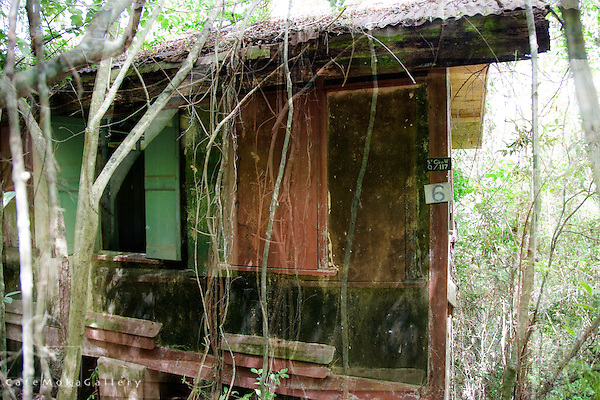 Chacachacare, derelict leper colony