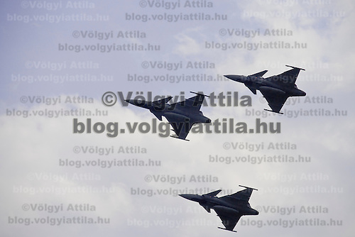 International Air Show organized as the 70th anniversary of Hungarian Air Force held in Kecskemet, Hungary. Saturday, 16. August 2008. ATTILA VOLGYI
