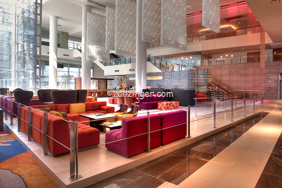 Downtown, Los Angeles, CA, JW Marriott, Hotel, Interior,