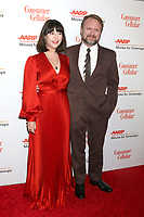 LOS ANGELES - JAN 11:  Karina Longworth and Rian Johnson at the AARP Movies for Grownups 2020 at the Beverly Wilshire Hotel on January 11, 2020 in Beverly Hills, CA