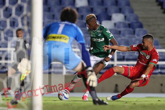 Cortuluá venció como local 2-1 a Deportivo Cali. Fecha 4 Liga Águila II-2017.