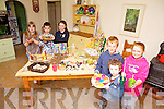 GETTING ARTY: Children form Tarbert community are looking forward to getting creative with new children's art classes starting in September. Pictured were: Jack O'Doherty, Kate Stack, Tom O'Doherty, Dharma O'Doherty, Siún Walsh and Danny Stack.