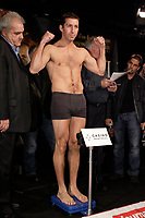 Montreal (QC) CANADA- Dec 10 2009- Official Weighting before Dec 11 Fight : Eric Lucas