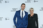 "Lorna and Jeremy arrive at the Clive Davis: ""The Soundtrack Of Our Lives"" world premiere for the Opening Night of the 2017 TriBeCa Film Festival on April 19, 2017 at Radio City Music Hall."