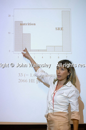 Margarita Gerouki gives a presentation on SRE in Greece at the Sex & Relationships Education Conference at the Institute of Education, London.